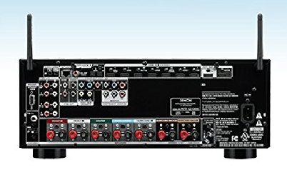 Denon AVR-X2100W inputs