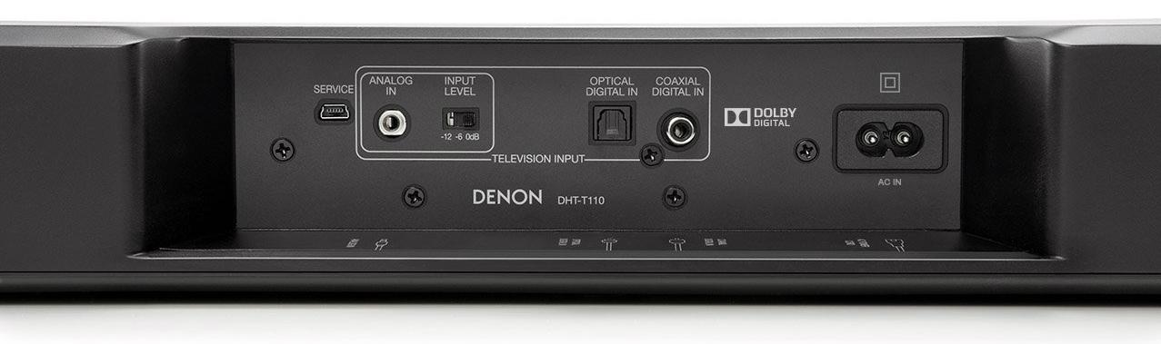 Denon DHT-T110 inputs