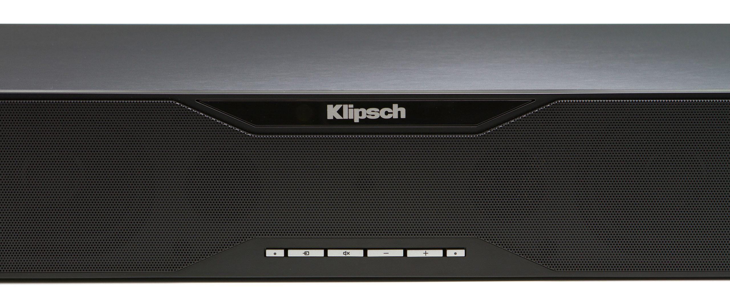 Klipsch SB 120 controls