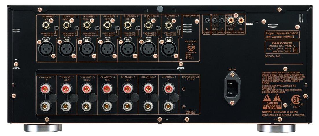 Marantz MM8077 inputs