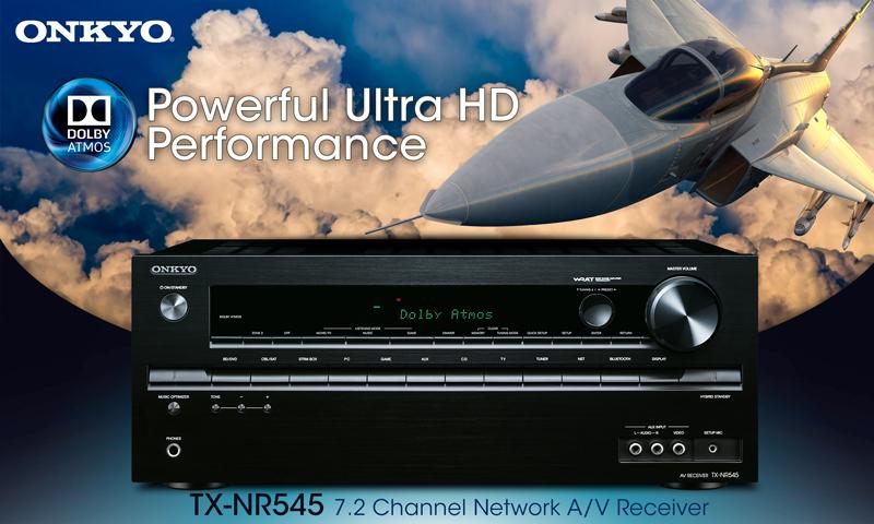 Onkyo TX-NR545 Dolby Atmos