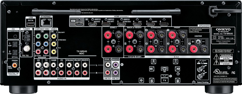 Onkyo TX-NR545 inputs