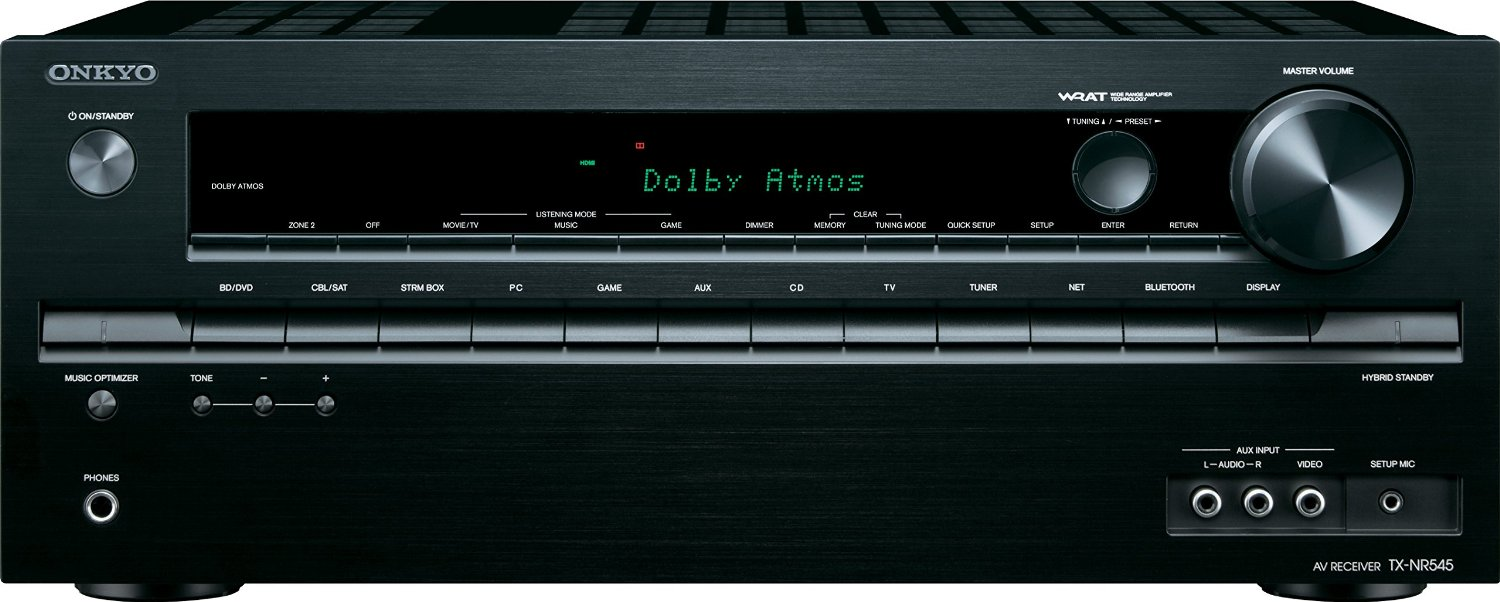 Onkyo TX-NR545 front