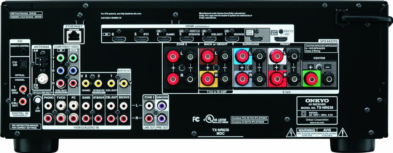 Onkyo Tx Nr636 Review Soundvisionreview