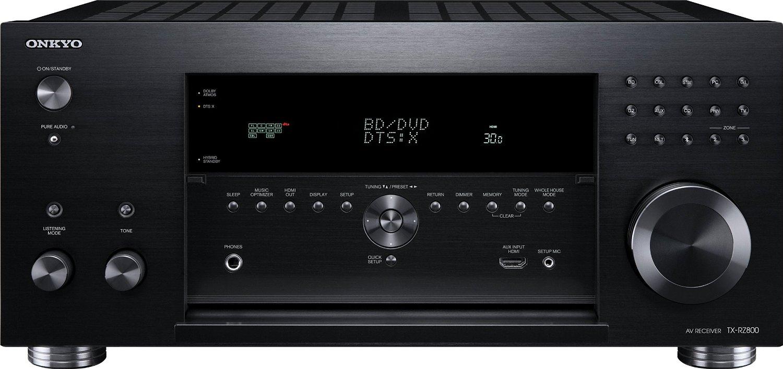 Onkyo TX-RZ800 front panel