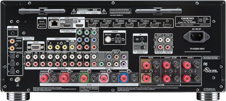 Onkyo TX-RZ800 inputs