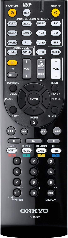 Onkyo TX-RZ800 remote control
