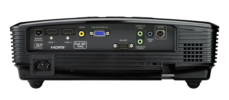 Optoma HD131Xe inputs