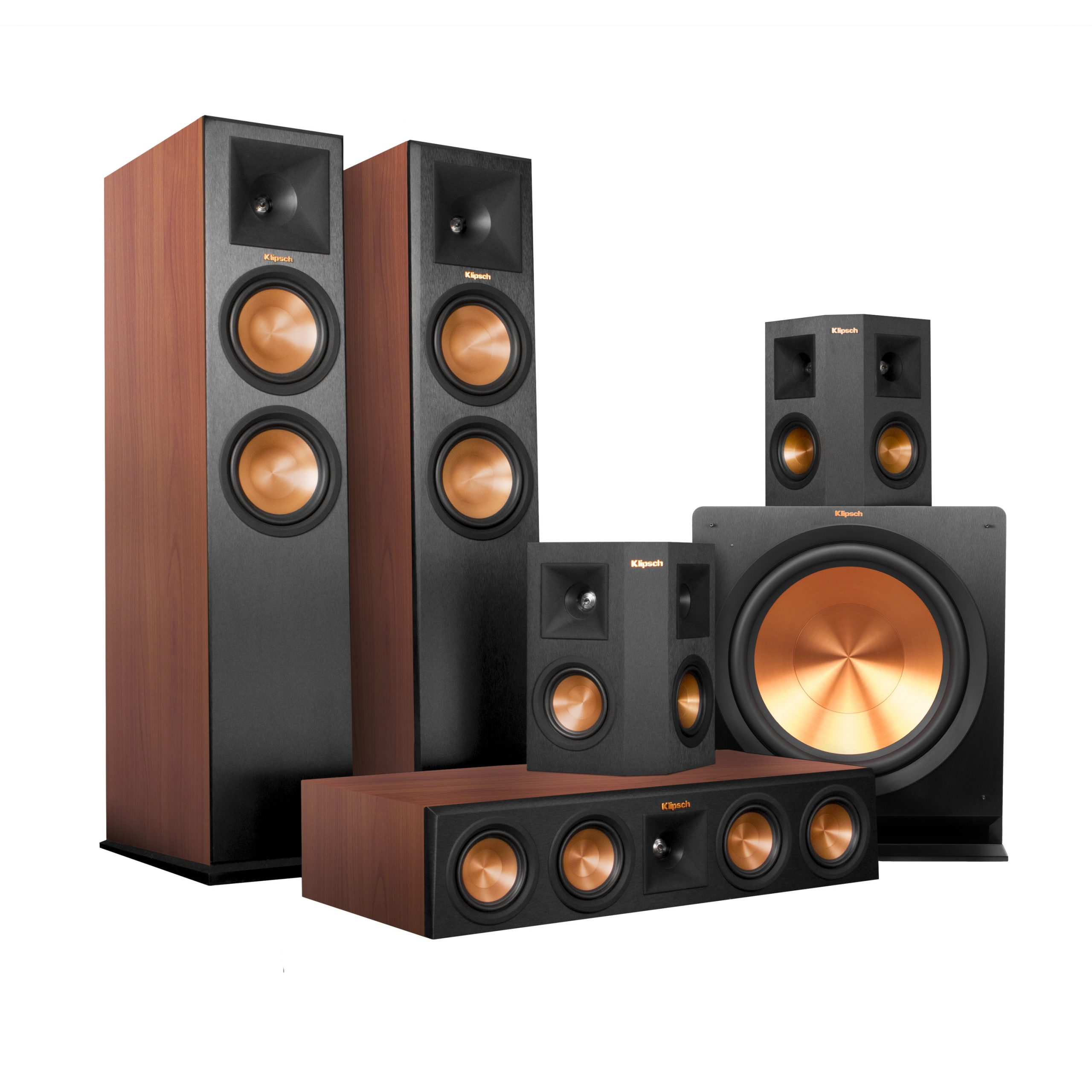 Rp 280 Home Theater System Cherry