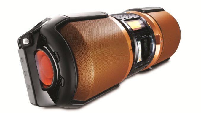 Sharp GX-M10 Boombox review
