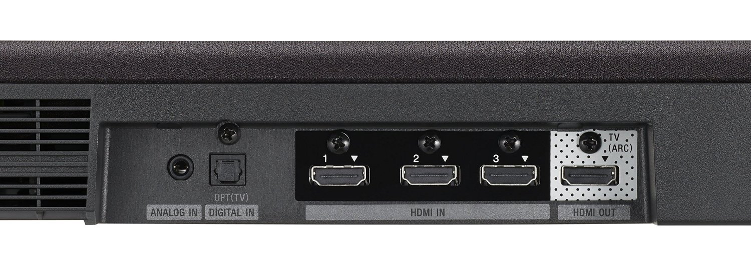 Sony HT-CT370 inputs