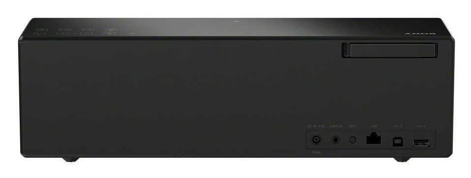 Sony SRS-X88 back inputs