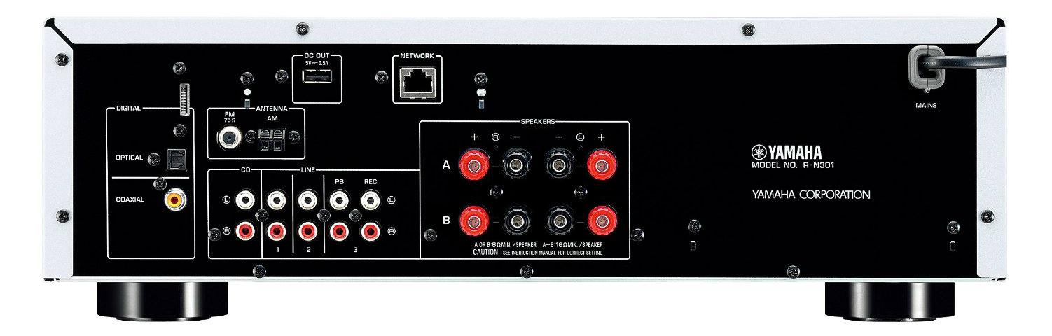 Yamaha R-N301 inputs