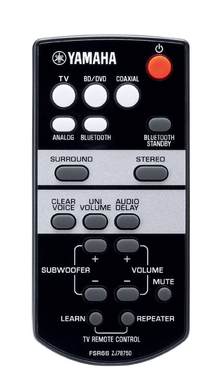 Yamaha YAS-103 remote control